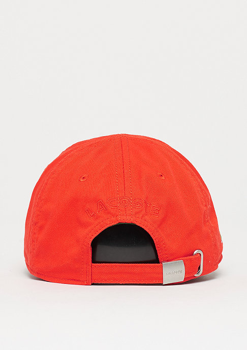 Lacoste Baseball Logo Cap 2 red