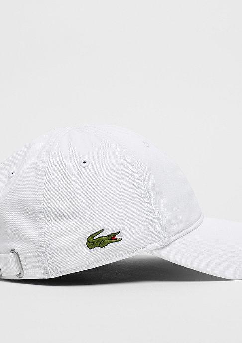 Lacoste Baseball Logo Cap 2 white