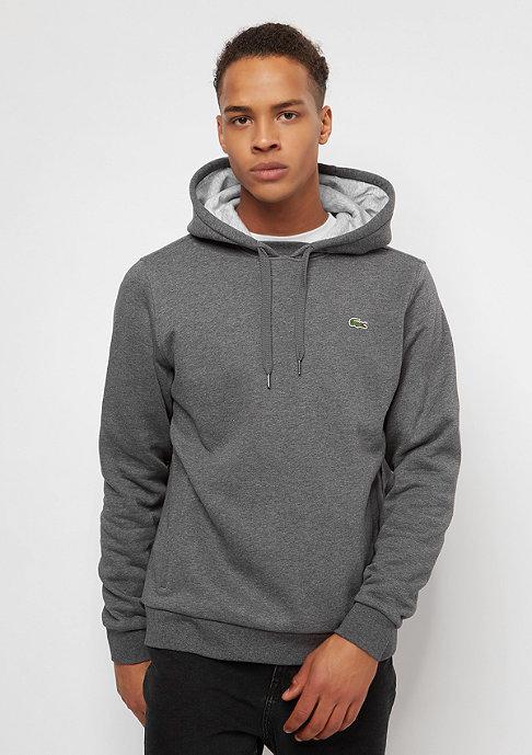 Lacoste Hoody Sweatshirt pitch/silver chine