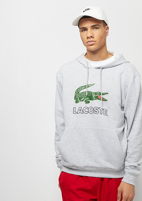 Lacoste Hoody silver chine