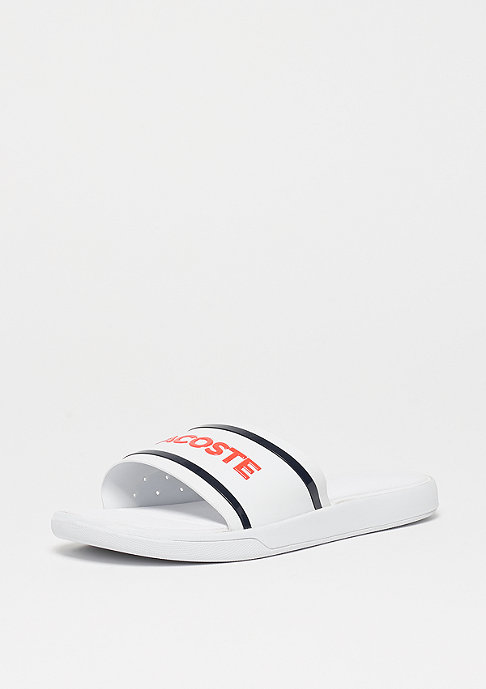 Lacoste L.30 SLIDE 218 1 CAW white/navy/pink