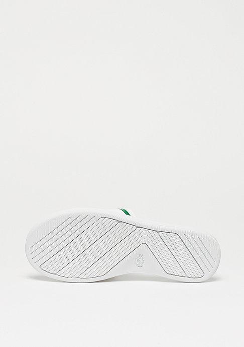 Lacoste L.30 SLIDE 218 1 CAW white/green