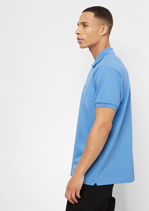 Lacoste Short Sleeved Ribbed Collar rocket