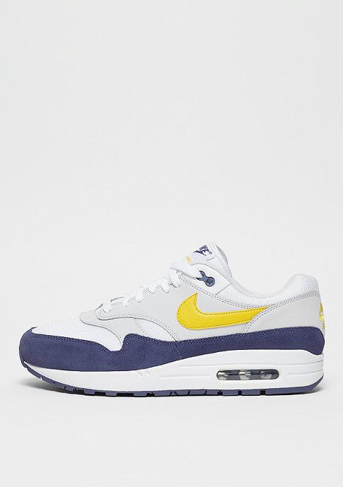 NIKE Air Max 1 white/tour yellow/blue recall
