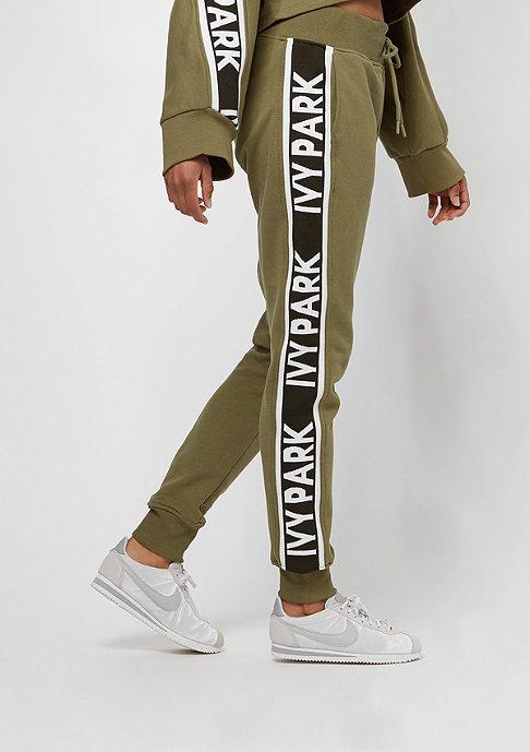 IVY PARK Logo Tape Jogger dark green