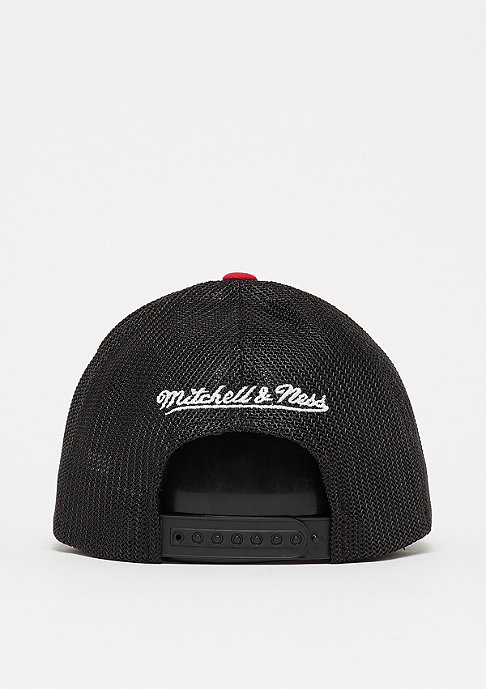 Mitchell & Ness Checkered Trucker 110 white/red