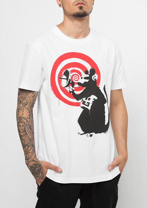 MERCHCODE Banksy Spy Rat white