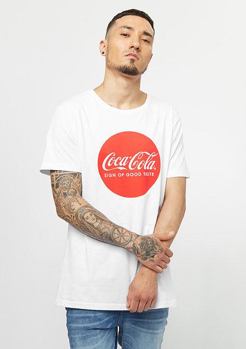 MERCHCODE Coca Cola Round Logo white