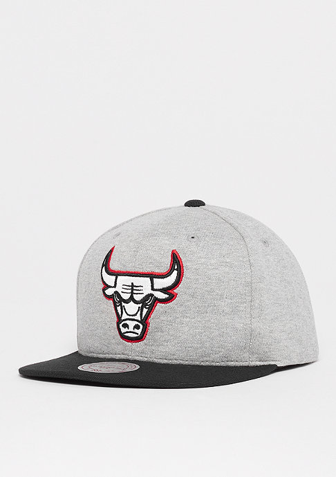 Mitchell & Ness The 3-Tone NBA Chicago Bulls grey heather/black/red