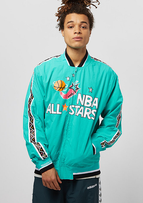 Mitchell & Ness All Star 1996 Warm Up teal