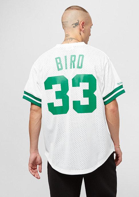 Mitchell & Ness NBA Boston Celtics Larry Bird white/green