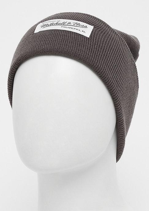Mitchell & Ness Nostalgia Cuff Knit charcoal