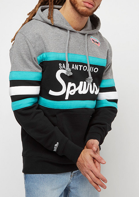 Mitchell & Ness NBA Head Coach San Antonio Spurs grey/black