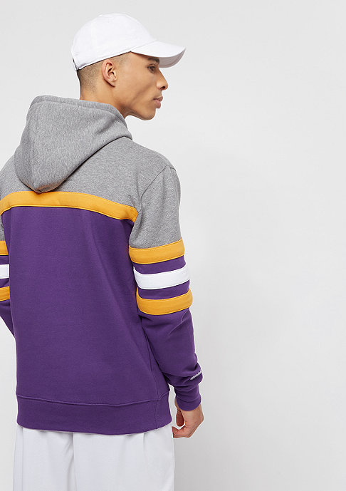 Mitchell & Ness NBA Head Coach LA Lakers grey/purple