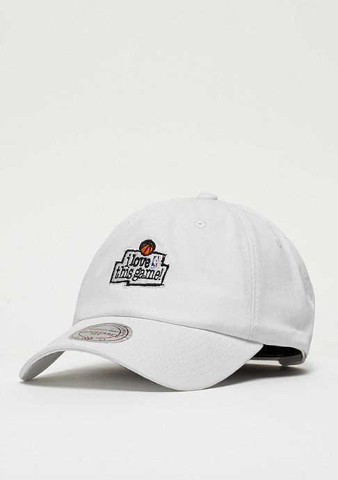 Mitchell & Ness I Love This Game Low Pro NBA white