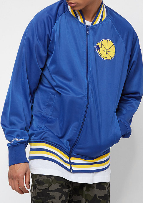 Mitchell & Ness NBA Top Prospect Golden State Warriors royal