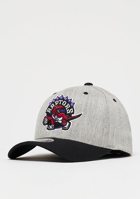 Mitchell & Ness Team Logo 2 Tone 110 NBA Toronto Raptors black/grey