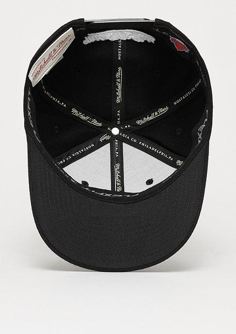 Mitchell & Ness NBA New York Knicks Black&White 110 Current Logo black