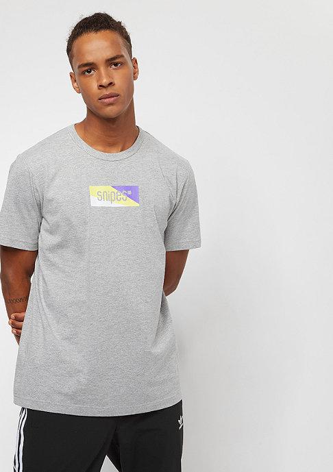 SNIPES Multicolor Box Logo heather grey