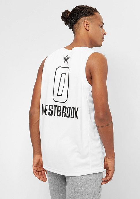 JORDAN NBA All Star Weekend Jersey West Russell Westbrook Swingman white