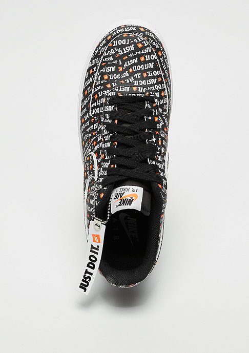 NIKE Air Force 1 '07 LV8 JDI black/black/white/total orange