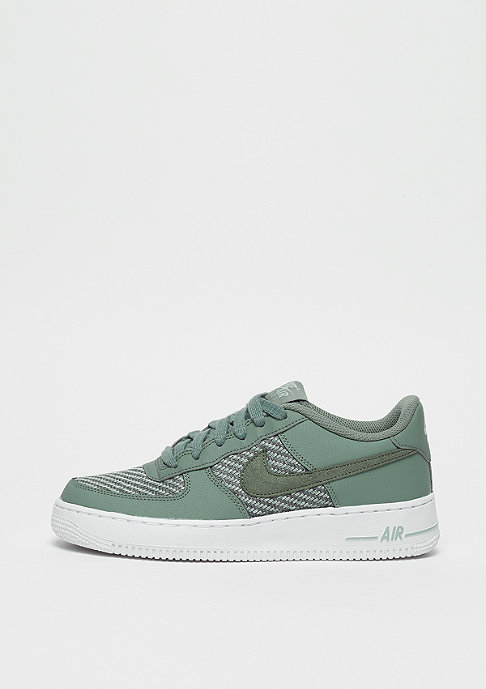 NIKE Air Force 1LV8 (GS) clay green/clay green-light pumice-white