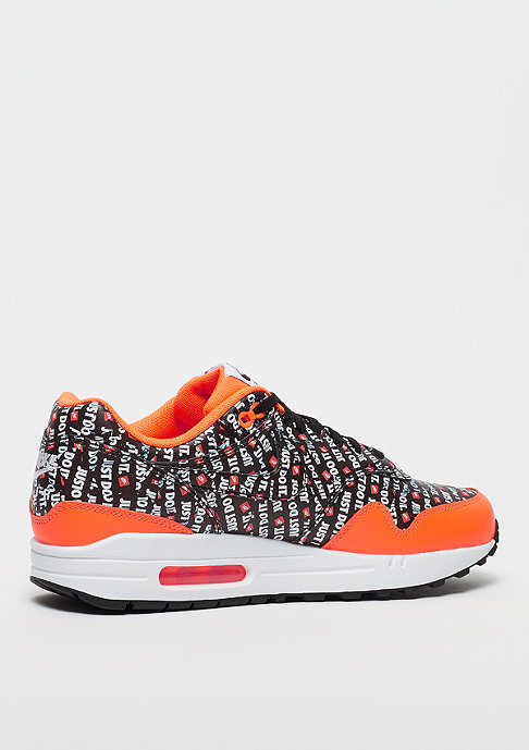 NIKE Air Max 1 Premium black/black/total orange/white