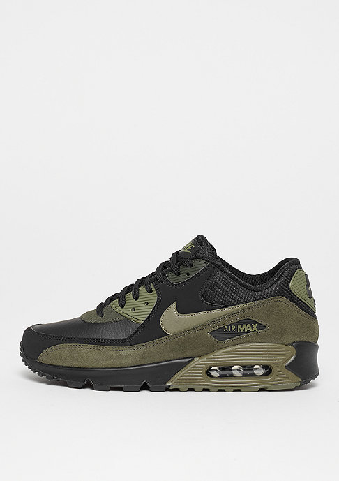 NIKE Air Max 90 black/medium olive/sequoia