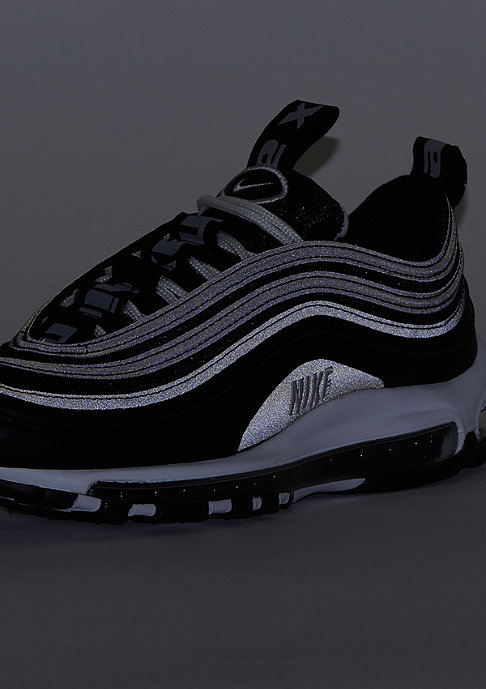 NIKE Air Max 97 black/white/varsity red