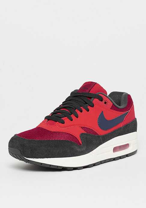 NIKE Air Max 1 red crush/midnight navy/university red