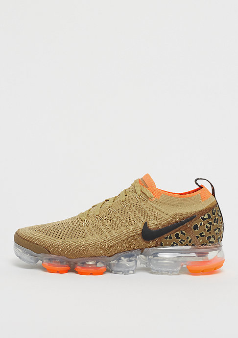 NIKE Air VaporMax Flyknit 2 club gold/black/golden beige