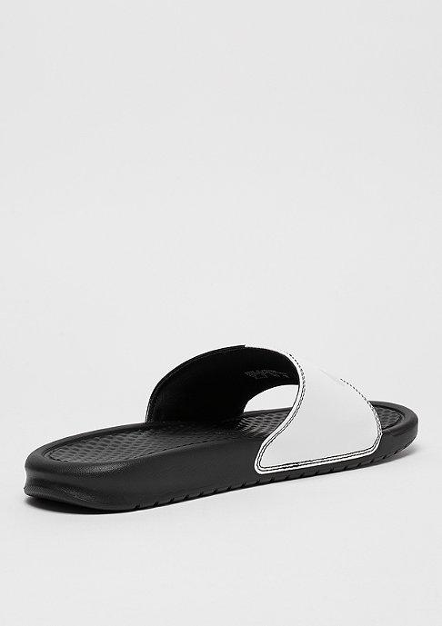 NIKE Benassi Just Do It black/pure platinum/black/white