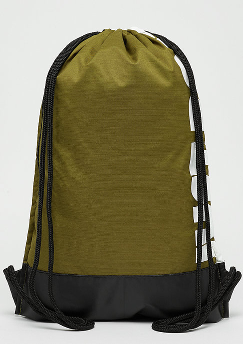 NIKE Brasilia Gym Bag olive flak/black/white