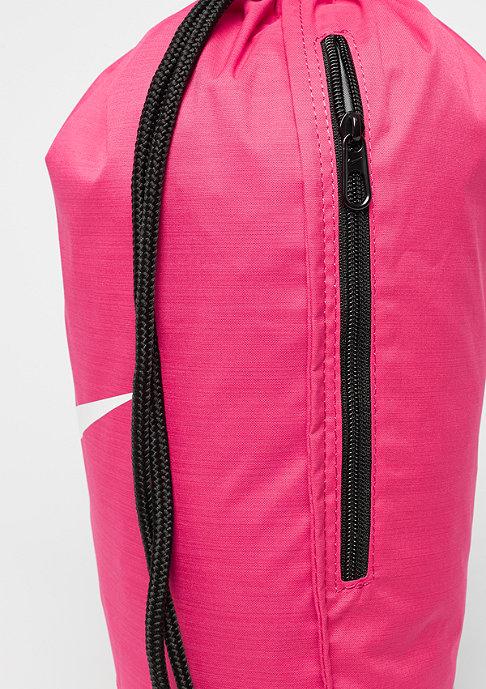 NIKE Brasilia Gym Bag rush pink/black/white