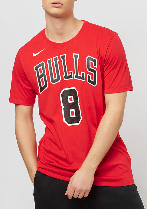 NIKE NBA Chicago Bulls Zach LaVine Dry university red