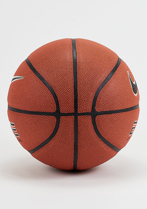 NIKE Basketball Elite Competition 8-Panel Amber Black Platinum