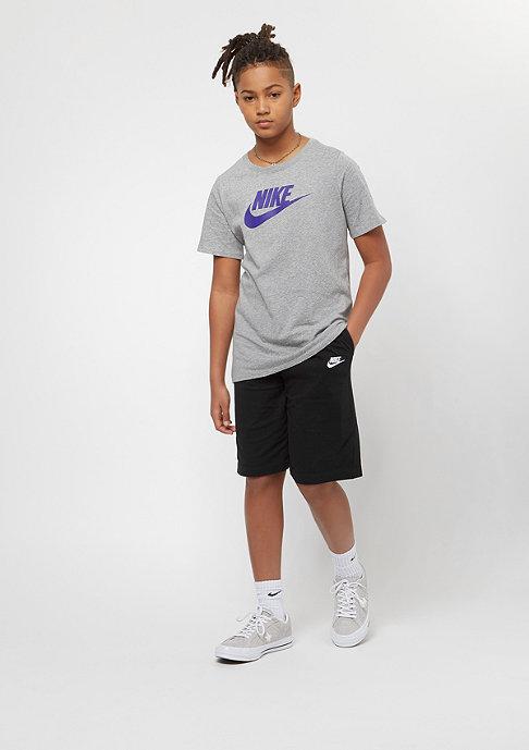 NIKE Junior Futura Icon dark grey heather/fusion violet