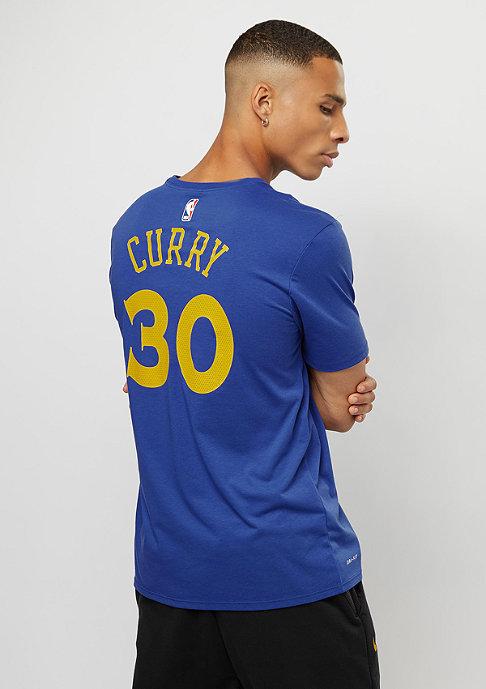 NIKE T-Shirt NBA Golden State Warriors Curry rush blue