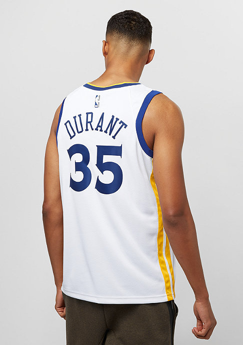 NIKE Golden State Warriors Kevin Durant white/amarillo/rush blue