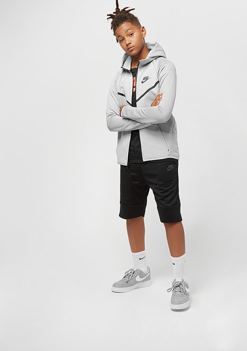 NIKE Junior Tech Fleece wolf grey/anthracite