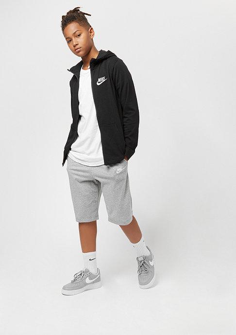 NIKE Junior NSW Hoodie black/wolf grey