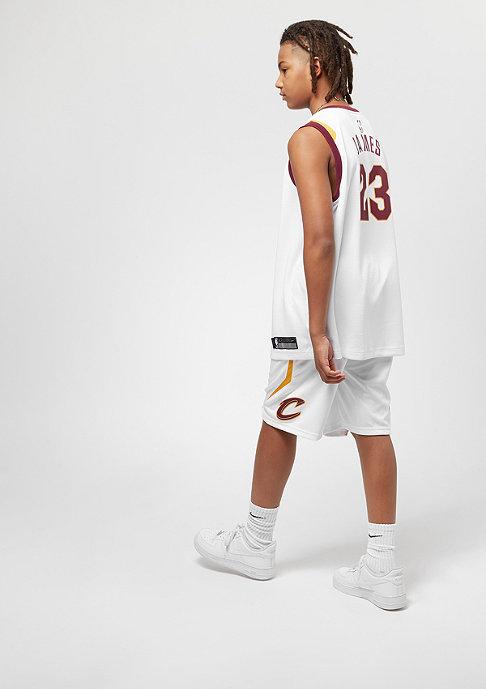 NIKE Kids Cleveland Cavaliers Shorts white