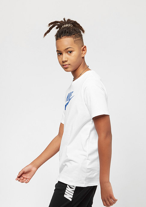 NIKE Kids Crew Future Icon white/blue nebula