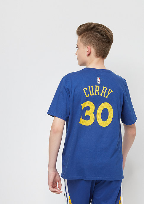 NIKE Kids NBA Golden State Warriors Stephen Curry blue