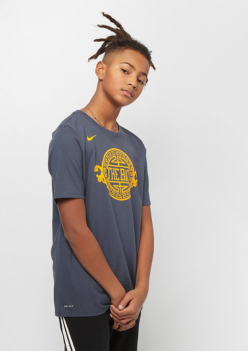 NIKE Kids Golden State Warriors SS CE thunder blue