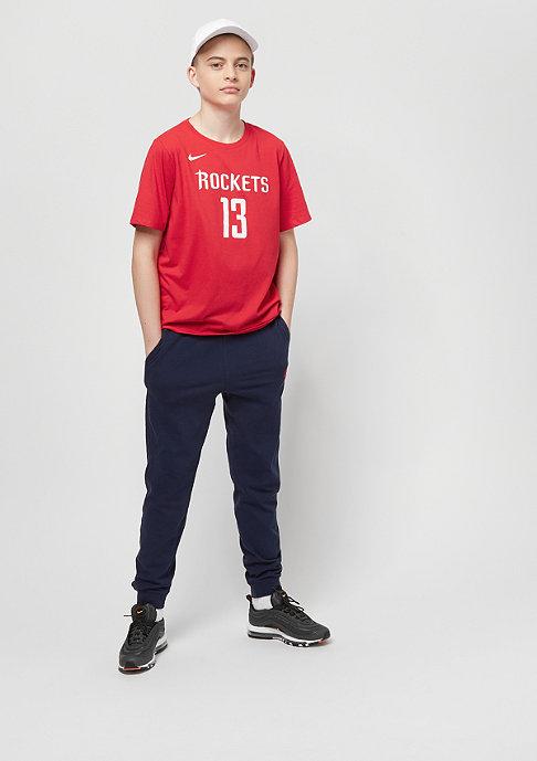 NIKE Kids Houston Rockets James Harden red