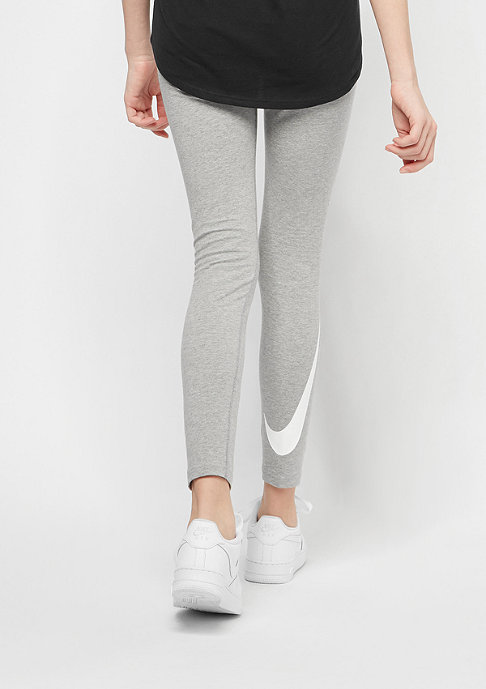 NIKE Kids Tight Club Logo dk grey heather/dk grey heather/white