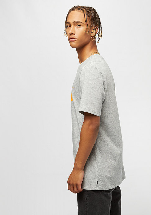 NIKE SB Logo dark grey heather/laser orange