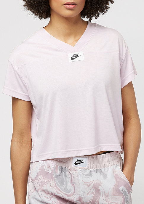 NIKE Marble Crop barely rose