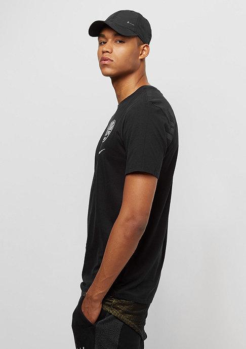 NIKE NBA Golden State Warriors T-Shirt black/amarillo